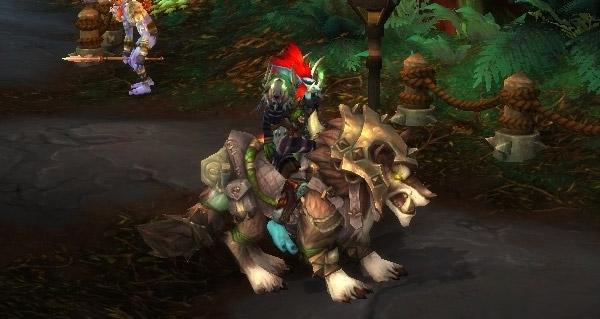 Morne-croc chanteguerre - Monture World of Warcraft