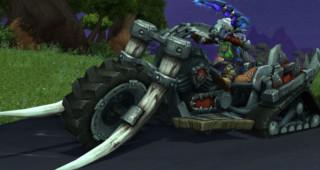 Mort-sur-roues de seigneur de guerre - Monture World of Warcraft