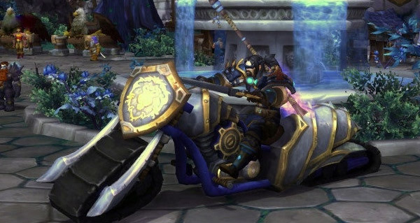 Motolame de champion - Monture World of Warcraft