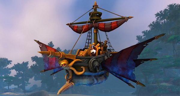 Noirsillage - Monture World of Warcraft