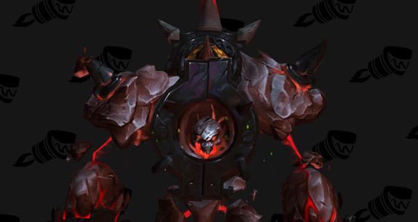 Noyau de flammes dévorantes monture WoW Legion
