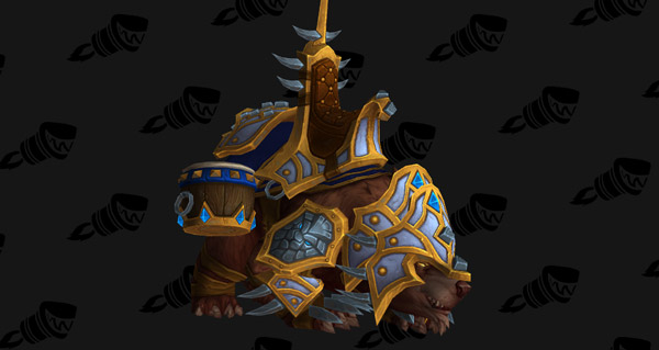 Ours de guerre vicieux (Alliance) monture WoW Legion