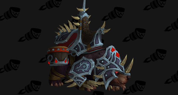 Ours de guerre vicieux (Horde) - Monture World of Warcraft