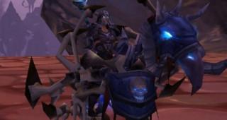 Palefroi ailé de la Lame d'ébène - Monture World of Warcraft