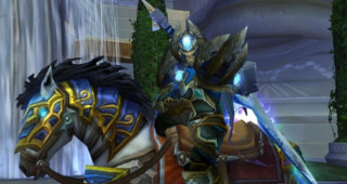 Palefroi rapide de l'Alliance - Monture World of Warcraft