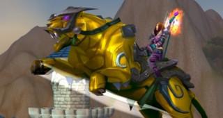 Panthère en héliolithe - Monture World of Warcraft
