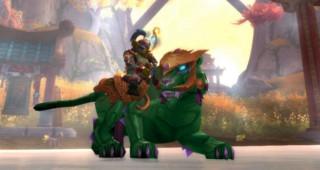 Panthère de jade - Monture World of Warcraft
