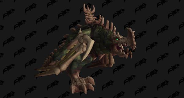 Pesteroc prédateur - Monture World of Warcraft
