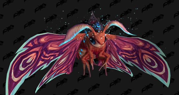 Phalarden ambré - Monture World of Warcraft