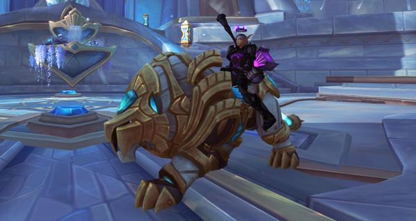 Phalynx de courage - Monture World of Warcraft