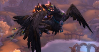 Rênes de phénix pandaren cendré - Monture World of Warcraft