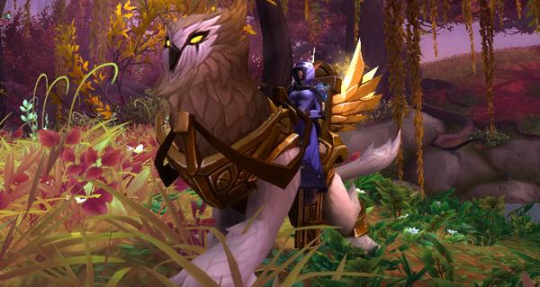 Veilleur ligelumière de grand prêtre - Monture World of Warcraft