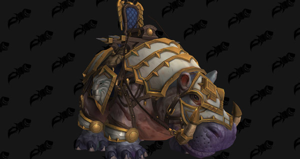 Potamodonte de guerre vicieux - Monture World of Warcraft