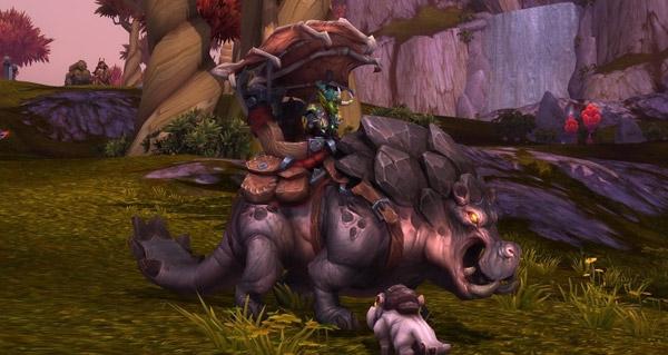 Potamodonte dos-de-boue - Monture World of Warcraft