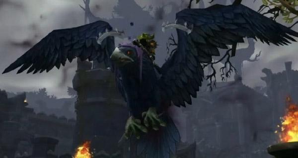 Présage meurtrier de lame-de-l'ombre monture WoW Legion
