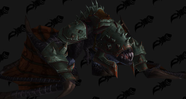Proto-drake noir du gladiateur - Monture World of Warcraft