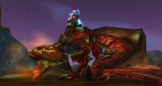 Rênes de proto-drake rouge - Monture World of Warcraft