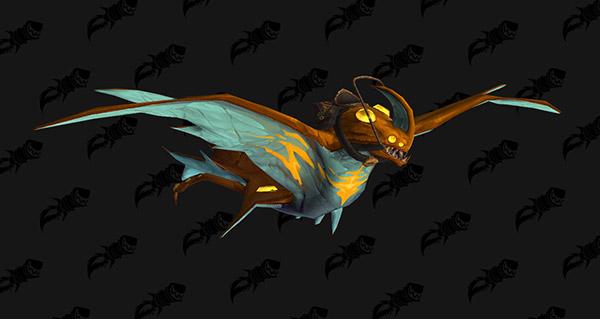 Raie de mana scintillante - Monture World of Warcraft