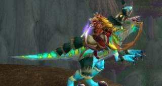 Raptor bleu rapide - Monture World of Warcraft
