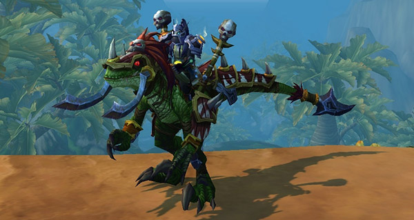 Raptor de guerre vicieux - Monture World of Warcraft