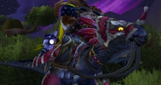 Sifflet du raptor de guerre noir - Monture World of Warcraft