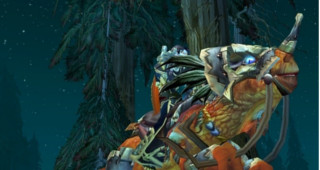 Raptor orange rapide - Monture World of Warcraft