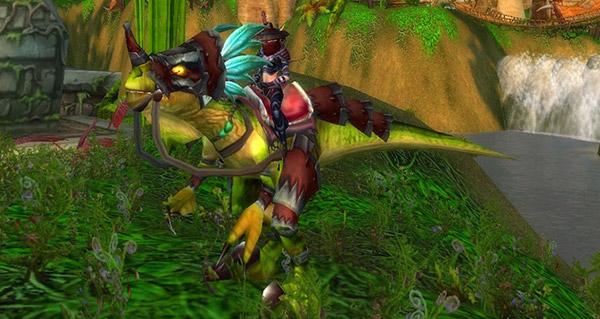 Raptor razzashi rapide monture WoW WoW Vanilla