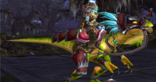 Raptor razzashi rapide - Monture World of Warcraft