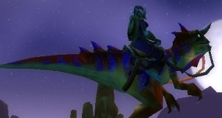 Sifflet du raptor rouge tacheté - Monture World of Warcraft