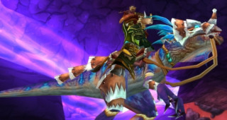 Raptor violet rapide monture WoW Wrath of the Lich King