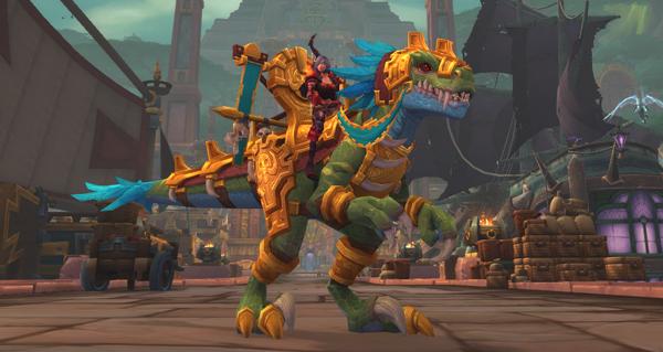 Ravasaure doré - Monture World of Warcraft