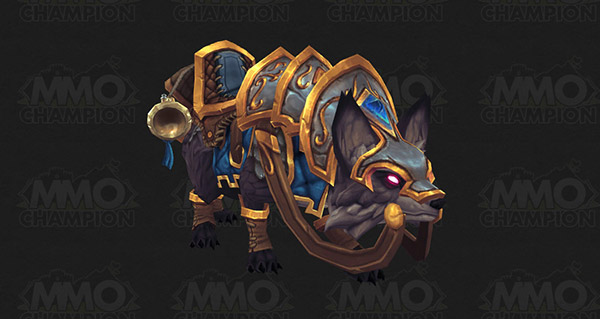 Renard de guerre vicieux (Alliance) - Monture World of Warcraft