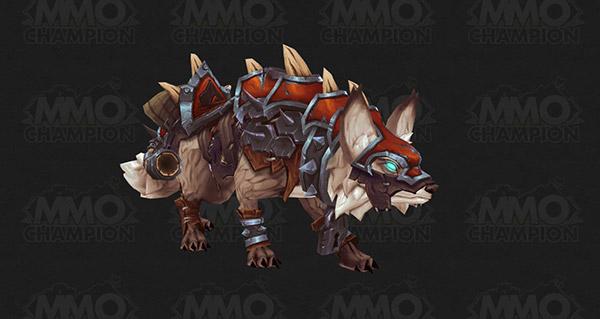 Renard de guerre vicieux (Horde) - Monture World of Warcraft
