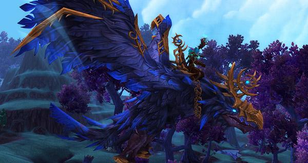 Rênes de corbeau de l'effroi - Monture World of Warcraft