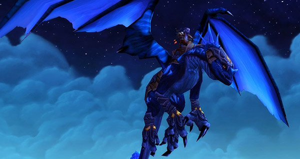 Rênes de drake azur - Monture World of Warcraft