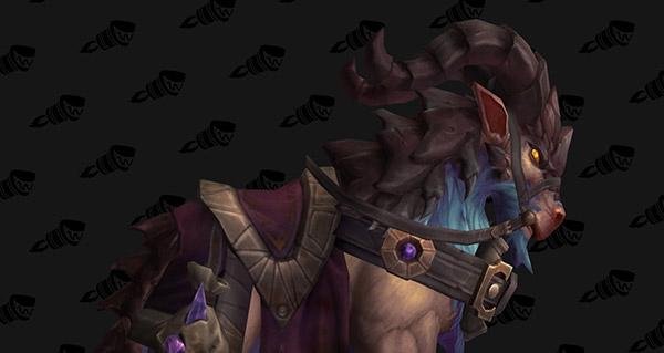 Rênes de foule-ruines acajou - Monture World of Warcraft