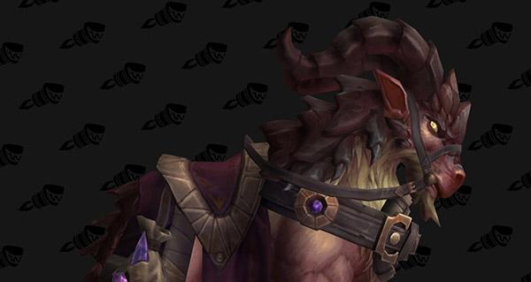Rênes de foule-ruines brun-roux - Monture World of Warcraft