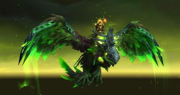 Rênes de l'aile de l'effroi corrompue - Monture World of Warcraft