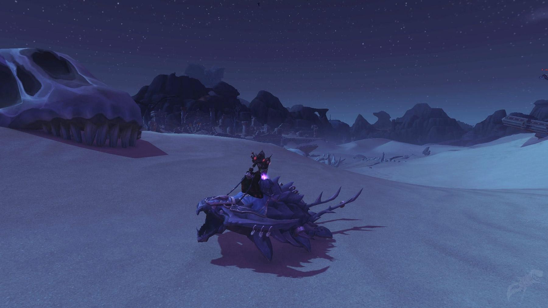 Terminez le méta haut fait Gloire au héros de BfA pour obtenir le krolusk d'obsidienne