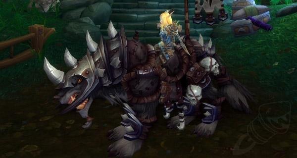 Rênes du loup de guerre prestigieux - Monture World of Warcraft