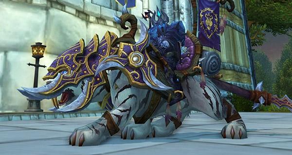 Rênes du sabre de guerre vicieux - Monture World of Warcraft