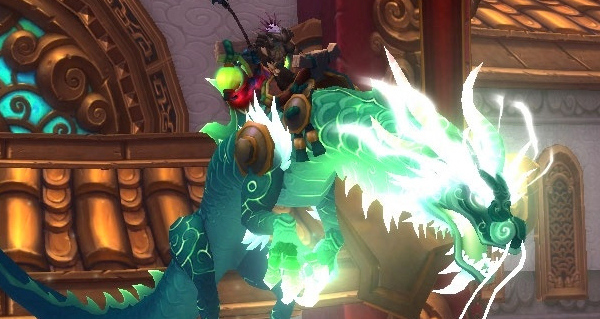 Yu'lei, fille du jade - Monture World of Warcraft