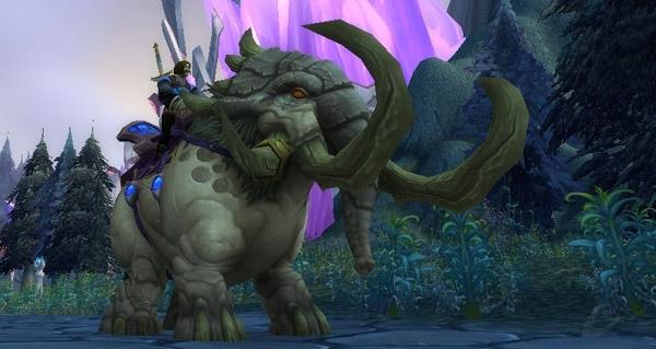 Rochecuir poussiéreux - Monture World of Warcraft
