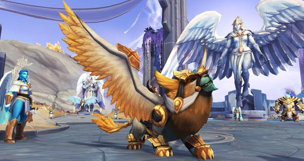 Rôdeur doré - Monture World of Warcraft