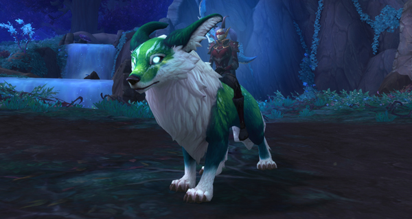 Rôdeur mantelume sauvage - Monture World of Warcraft