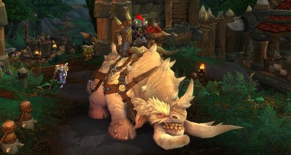 Sabot-glacé de la toundra - Monture World of Warcraft