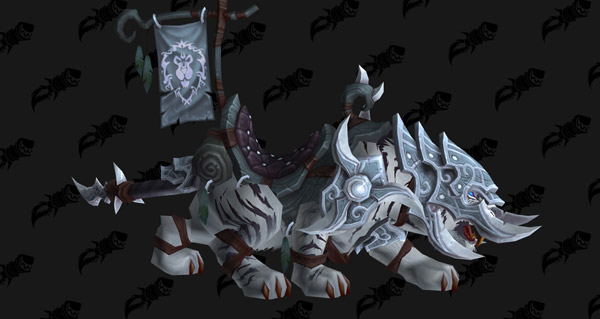 Sabre de guerre blanc vicieux - Monture World of Warcraft