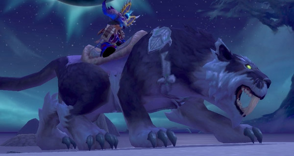 Sabre-de-nuit kaldorei monture WoW Battle for Azeroth