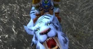 Rênes de sabre-de-givre rayé - Monture World of Warcraft