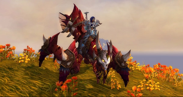 Saccageur sinistre monture WoW Warlords of Draenor